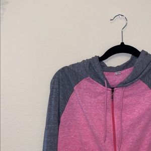 Semi-fitted Under Armor lightweight jacket